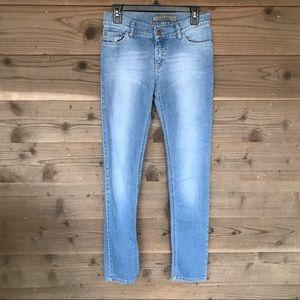 "🦄34""Inseam🦄Zara Basics High Rise Skinny Jean Sz6"